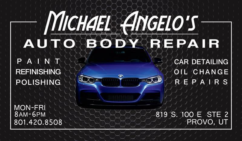 Auto Body Repair Business Card Ideas Best Business Cards